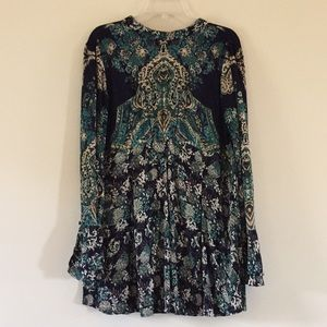 (Free People) Tie back tunic